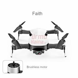 C-FLY FAITH 4K dronas su GPS ir kamera su trijų ašių stabilizatoriumi