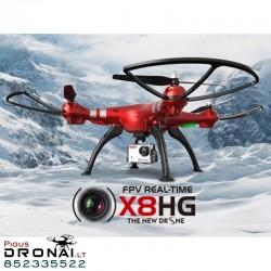 Dronas Syma X8HG su kamera
