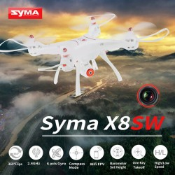 Dronas su kamera Syma X8SW