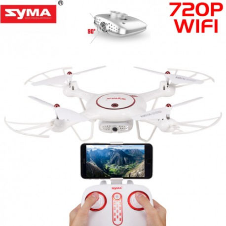 Dronas su reguliuojama kamera Syma X5UW-D
