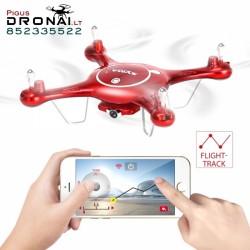 Dronas Syma X5UW su WiFi + SD  kamera