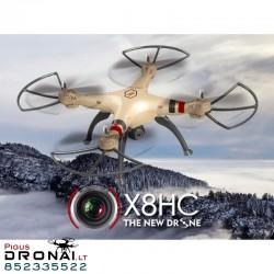 Dronas Syma X8HC su kamera